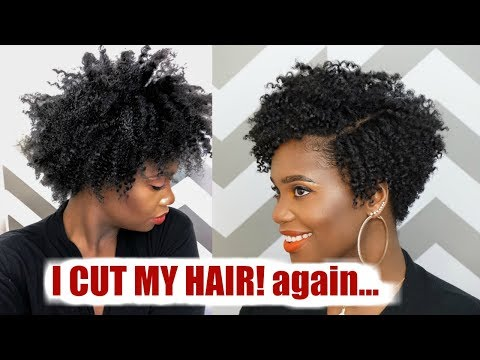 how-to-cut-✂️-natural-hair-into-a-tapered-cut-#haircutbae-|-misskenk