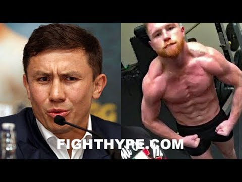 """(WOW!) GOLOVKIN ERUPTS ON """"CHEATER"""" CANELO AND """"DIRTY"""" DE LA HOYA; SAYS USED INJECTIONS & PILLS"""