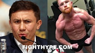 "(WOW!) GOLOVKIN ERUPTS ON ""CHEATER"" CANELO AND ""DIRTY"" DE LA HOYA; SAYS USED INJECTIONS & PILLS"