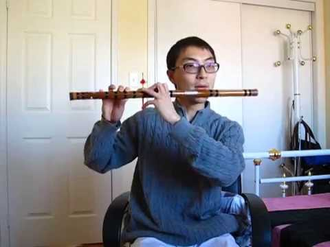 Naruto Main Theme on Bamboo Flute  BETTER