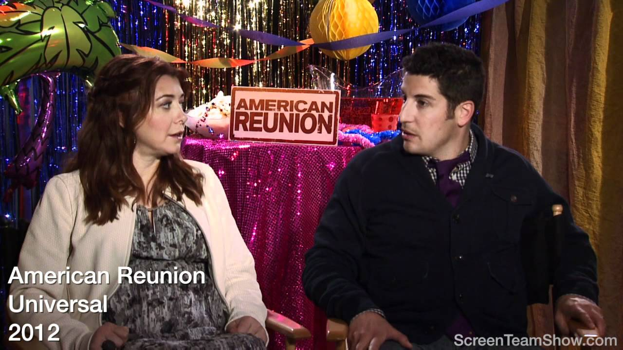 Alyson Hannigan American Pie Hot jason biggs & alyson hannigan hd interview - american reunion