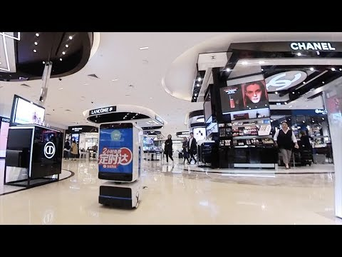 A High-Tech Retail Experience In China