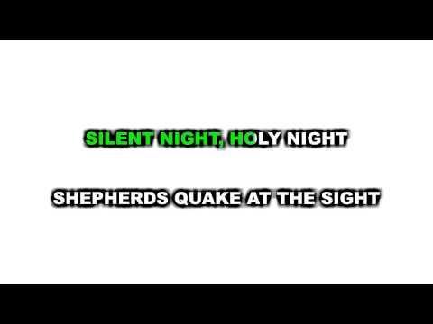 Silent Night, Holy Night Karaoke
