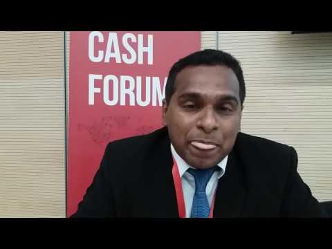 Laksiri Nanayakkara World Food Programme on the  Global Cash Forum
