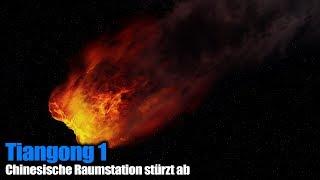 Chinesische Raumstation Tiangong 1 wird abstürzen