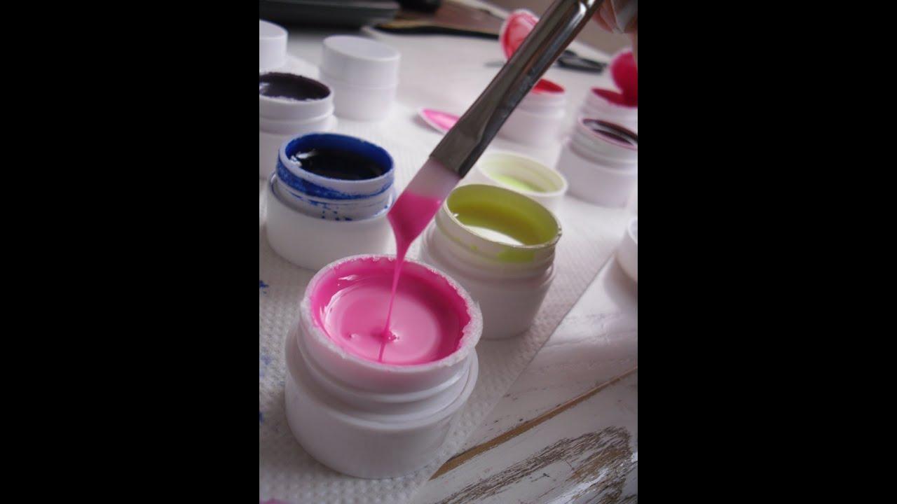 36 Pots UV Gel Ebay Haul Review - YouTube