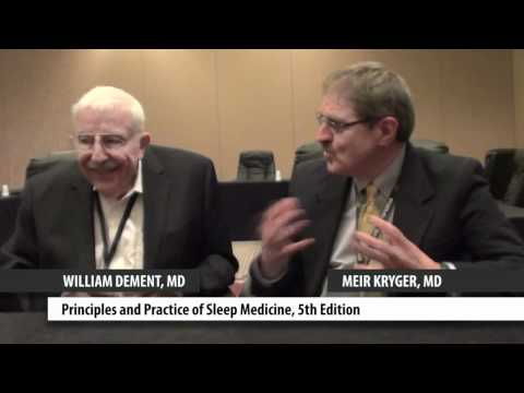 Dr. Meir Kryger and Dr. William Dement discuss their sleep medicine books