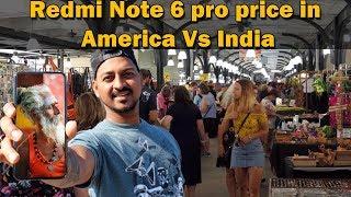 Xiaomi Redmi Note 6 Pro Price in America Vs India ||  Youtube Money se Buy Kiya