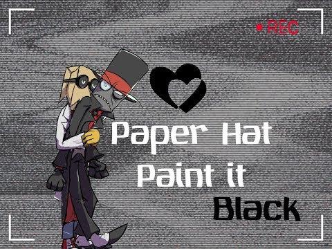 Black Hat x Dr.Flug / Paper Hat / Villainous