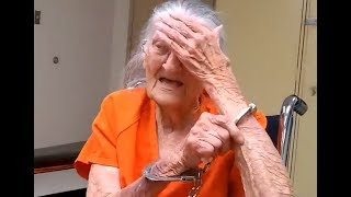 93 year old woman handcuffed and thrown in j ail after refusing to leave her care home