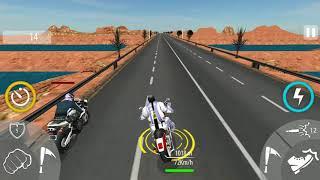 BIKE ATTACK RACE - Walkthrough Gameplay _ Highway Tricky Stunt Rider Game screenshot 4