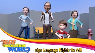 Why sign language is important? this video has a perfect response!