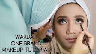 Wardah One Brand Makeup Tutorial | UCHYLESTARI