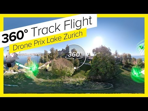 Experience DRONE RACING in 360° #DCL18 Drone Champions League