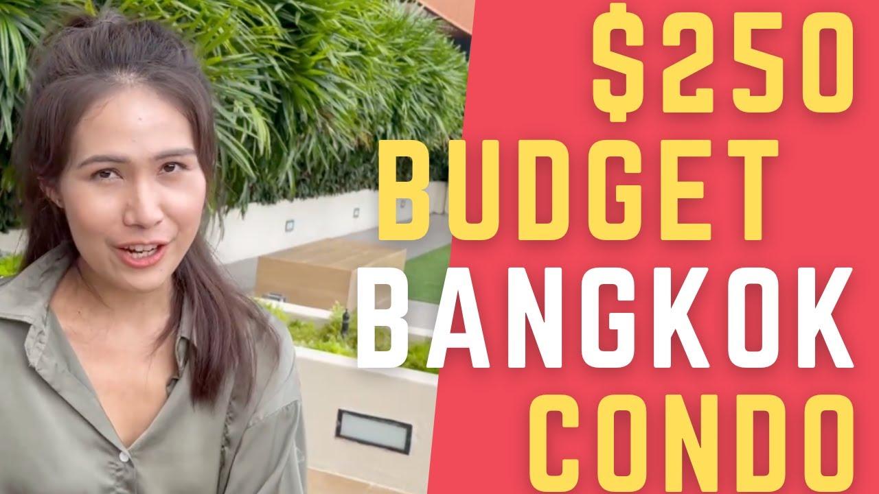 Download $250 Cozy CHEAP CONDO in Ramkhamhaeng, Bangkok.. travel by train or BOAT to Asok | Baan Smile 2021