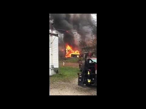 Private jet crashes in Ohio - several feared dead