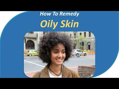 How to remedy Oily Skin. Use blotting papers.