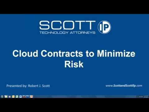 Cloud Contracts to Minimize Risk