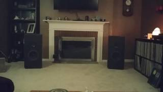 An evening with my Boston Acoustics A150 Series II