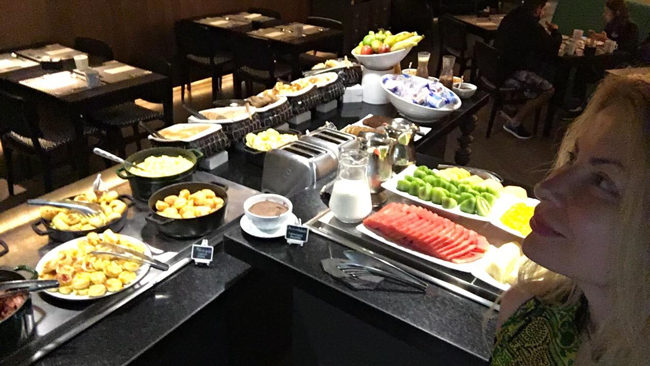 Rio De Janeiro Starting The Day Amazing Breakfast Yoo2 Hotel With Adeyto