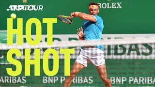 Hot Shot: Nadal's Rocket Forehand Past Pella In Monte-Carlo