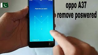 how to hard reset oppo A37 Remove lock👌