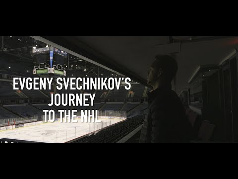 Detroit Red Wings prospect Evgeny Svechnikov's journey to the NHL