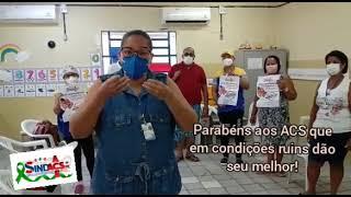 TV SINDACS PE - SINDACS PE em visita na Unidade de Saúde Vila São Miguel