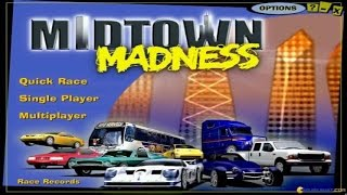Midtown Madness gameplay (PC Game, 1999)