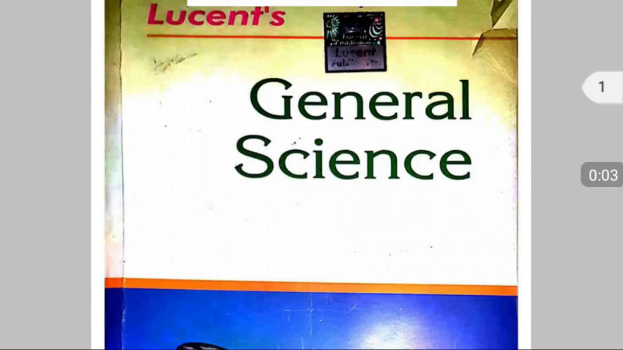 Lucent General Science Book In English Pdf