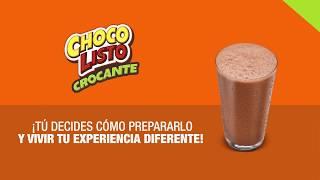 Descubre el sabor de Chocolisto Crocante y prepáralo como más te guste. thumbnail