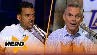 Matt Barnes on what is next for Kawhi Leonard, Kyrie Irving and Lonzo Ball | NBA | THE HERD