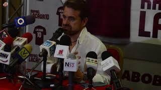 Rafael Lacava aseguró que Cocchiola no supo hacer su trabajo en la política