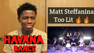 Camila Cabello - HAVANA (Matt Steffanina ft NBA Timberwolves Dancers DANCE) REACTION