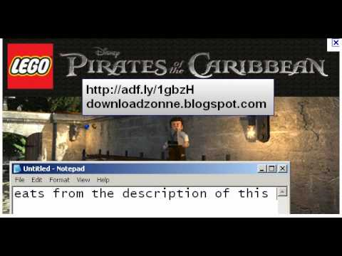 Lego Pirates Of The Caribbean Game Cheats Codes (2011)