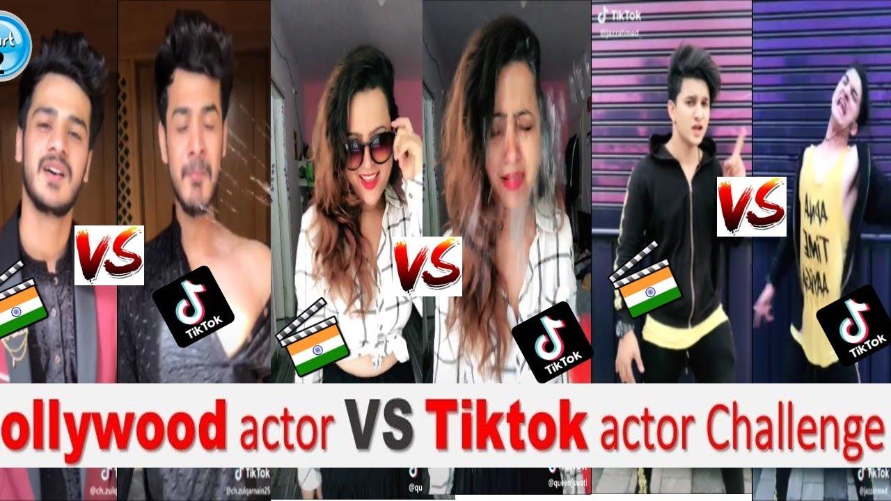Bollywood actor VS Tiktok actor Challenge -02 |Tik Tok Latest Challenge| Bollywood song TikTok Video