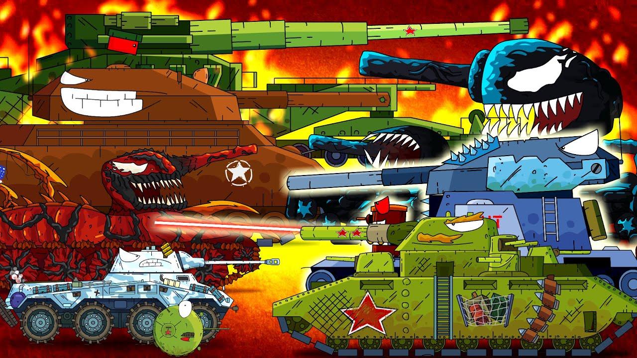 ТОП 15 мини серий + секретная серия - Мультики про танки