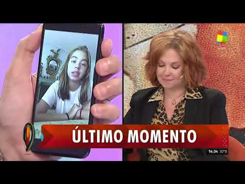 La hija de Andrea del Boca volvió a referirse a los abusos que sufrió de su padre