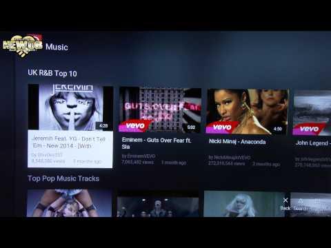 PS4 - YouTube App