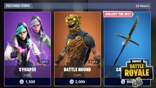 NEW SYNAPSE SKIN + HEX WAVE WEAPON WRAP NEW FORTNITE ITEM SHOP UPDATE