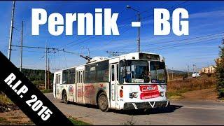 PERNIK TROLLEYBUS -  В тролейбуса в Перник (08.10.2013)