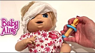 Baby Alive Doll Beatrix in Hospital after she had a bad Accident at the Grand Canyon Part 2