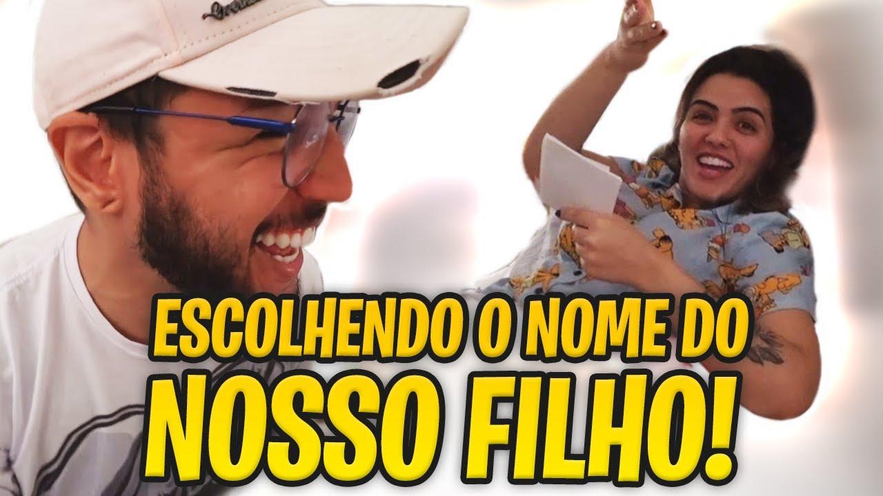 ESCOLHENDO O NOME DO NOSSO FILHO 😍