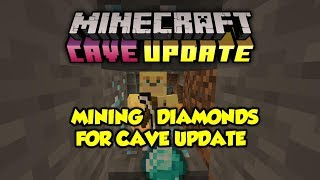 Literally Just Mining To Show We Need A Cave Update