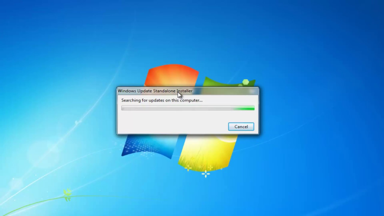 Windows 7 Stuck Searching for Updates FIX [Tutorial]