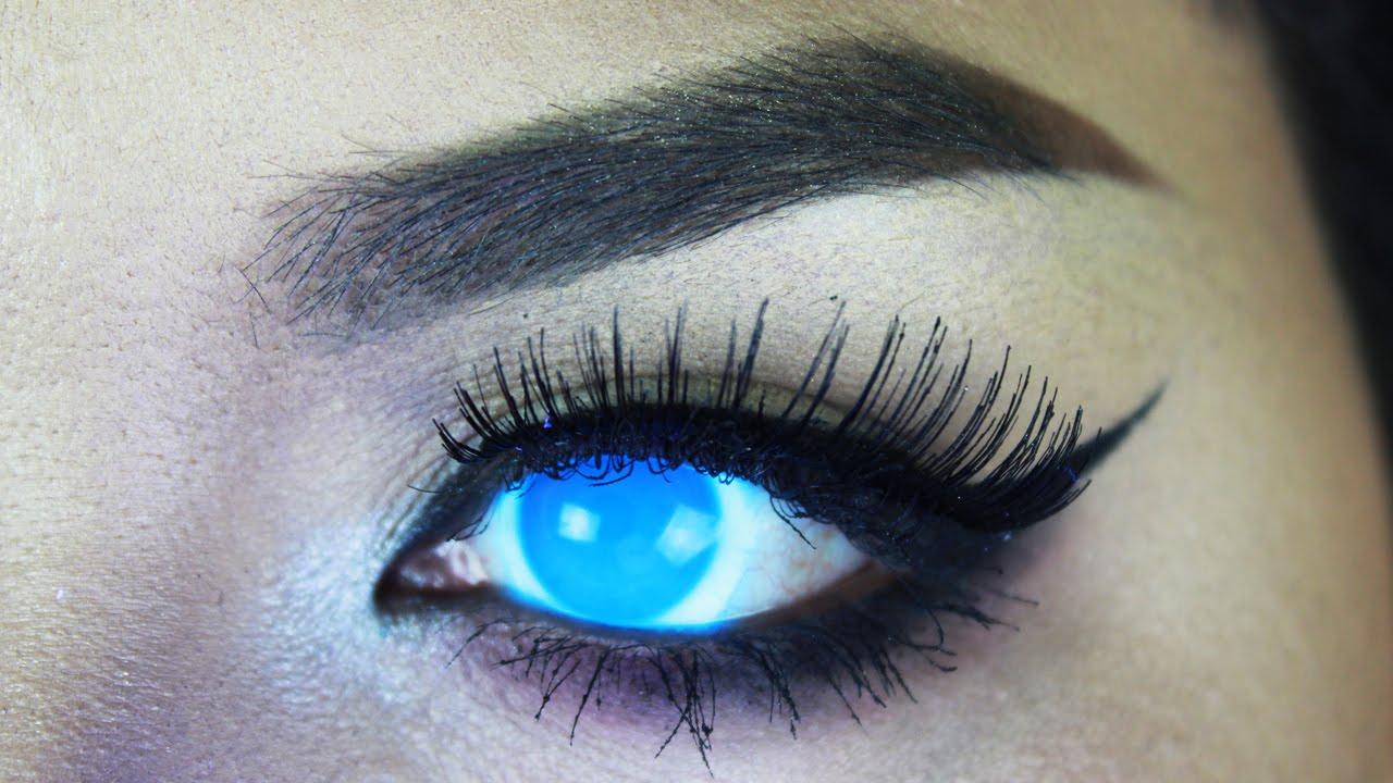 fea9ff9b7 Phantasee Glow UV Electric Blue - Pinky Paradise | DaniRayeMakeup - YouTube