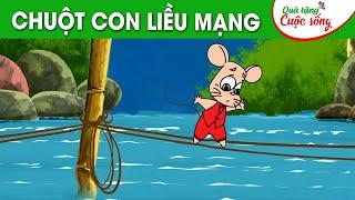 CHUỘT CON LIỀU MẠNG - Phim hoạt hình - Truyện cổ tích - Hoạt hình hay - Cổ tích - Quà tặng cuộc sống