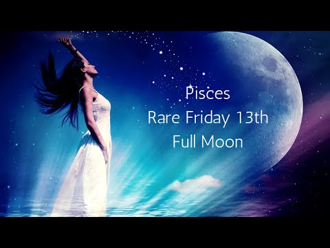 Pisces Astounding September Full Moon Not To Be Seen Again For Decades // Tarot Reading