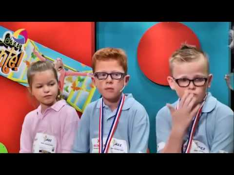 School Draughts Team from Bemmel Netherlands on local television