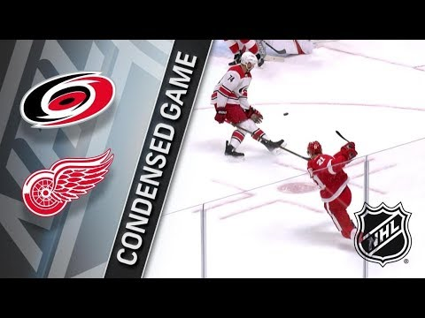 Carolina Hurricanes vs Detroit Red Wings – Jan. 20, 2018 | Game Highlights | NHL 2017/18.Обзор матча